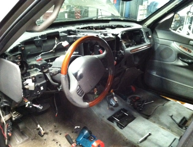 Dash Removal to access heater core