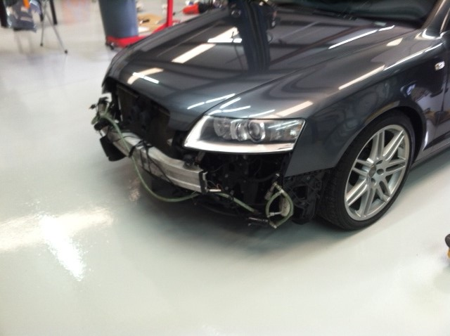 2008 Audi A6 4 2l Quattro S6 Bumper Exchange Led