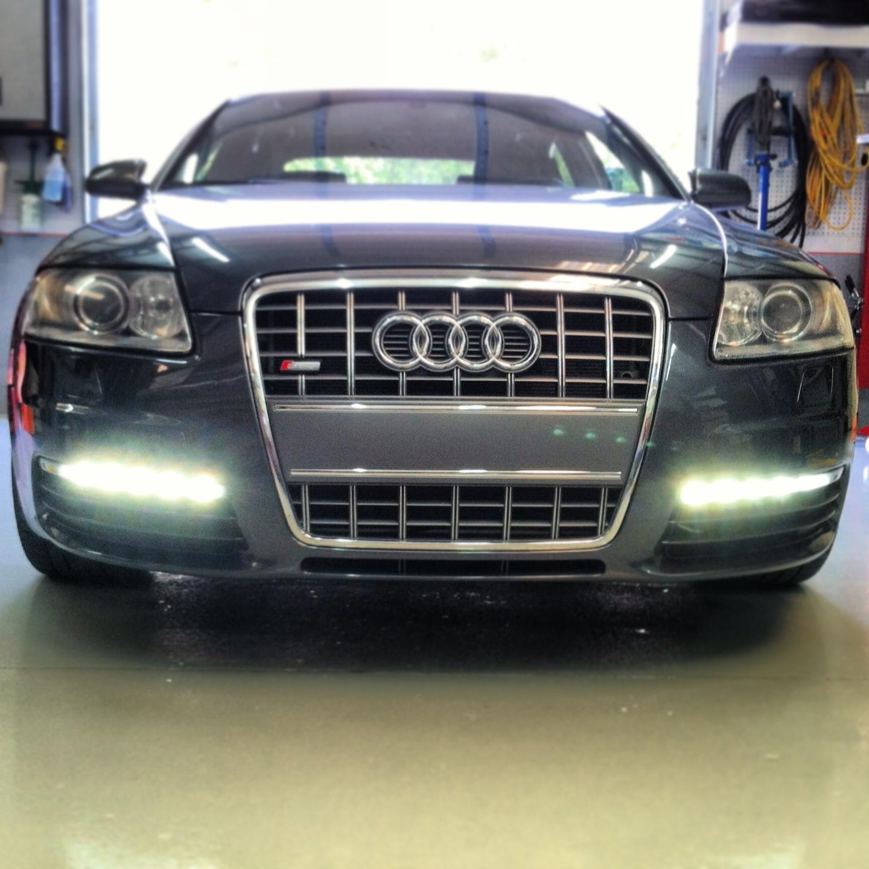 2008 Audi A6 4 2l Quattro S6 Bumper Exchange Led