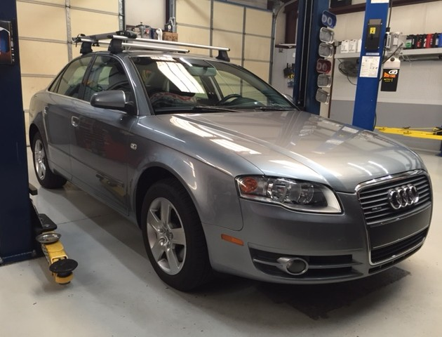2006 Audi A4 2.0 BPG quattro engine mounts snub brake disc pads service maintenance german import auto repair car mechanic garage autohaus lexington chapin irmo columbia midlands dealer sc