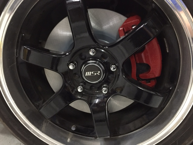 2007 Nissan 350Z Front Brake Replacement 2007 nissan 350z front rear ...