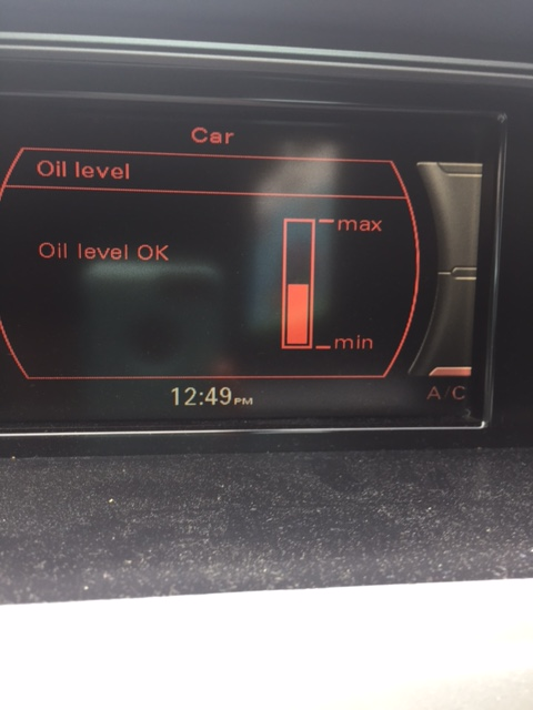 Do You Know How to Check Your Oil ? volkswagen audi A4 2.0T quattro oil consumption burning low ...