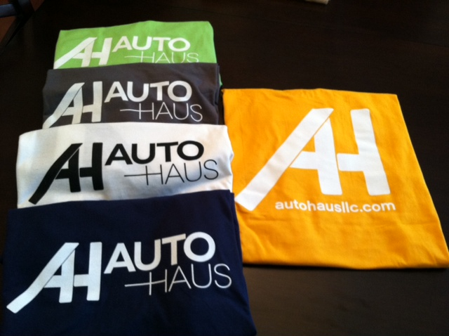 Das Autohaus T-Shirts Are Here !!