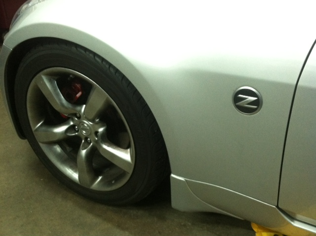 Nissan 350Z Touring Exhaust Project