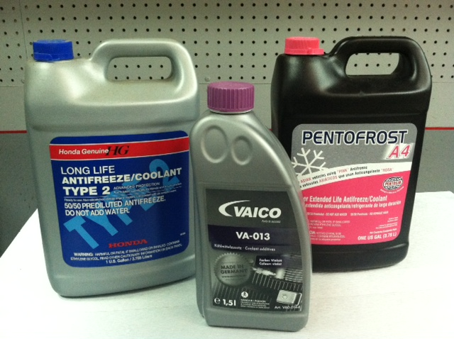 Antifreeze / Coolant:  It Affects More Than You Think