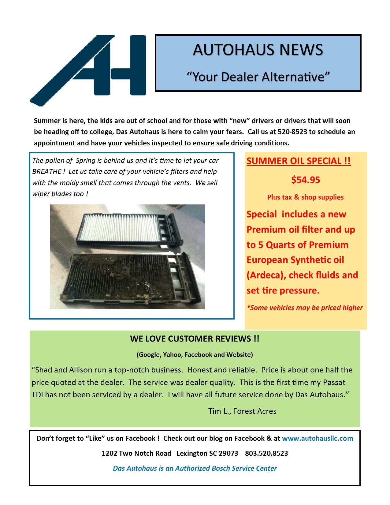 Autohaus News