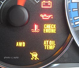 Flashing Check Engine Light ?